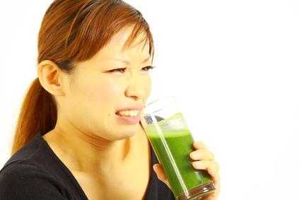 普通の青汁はおいしくは・・ない