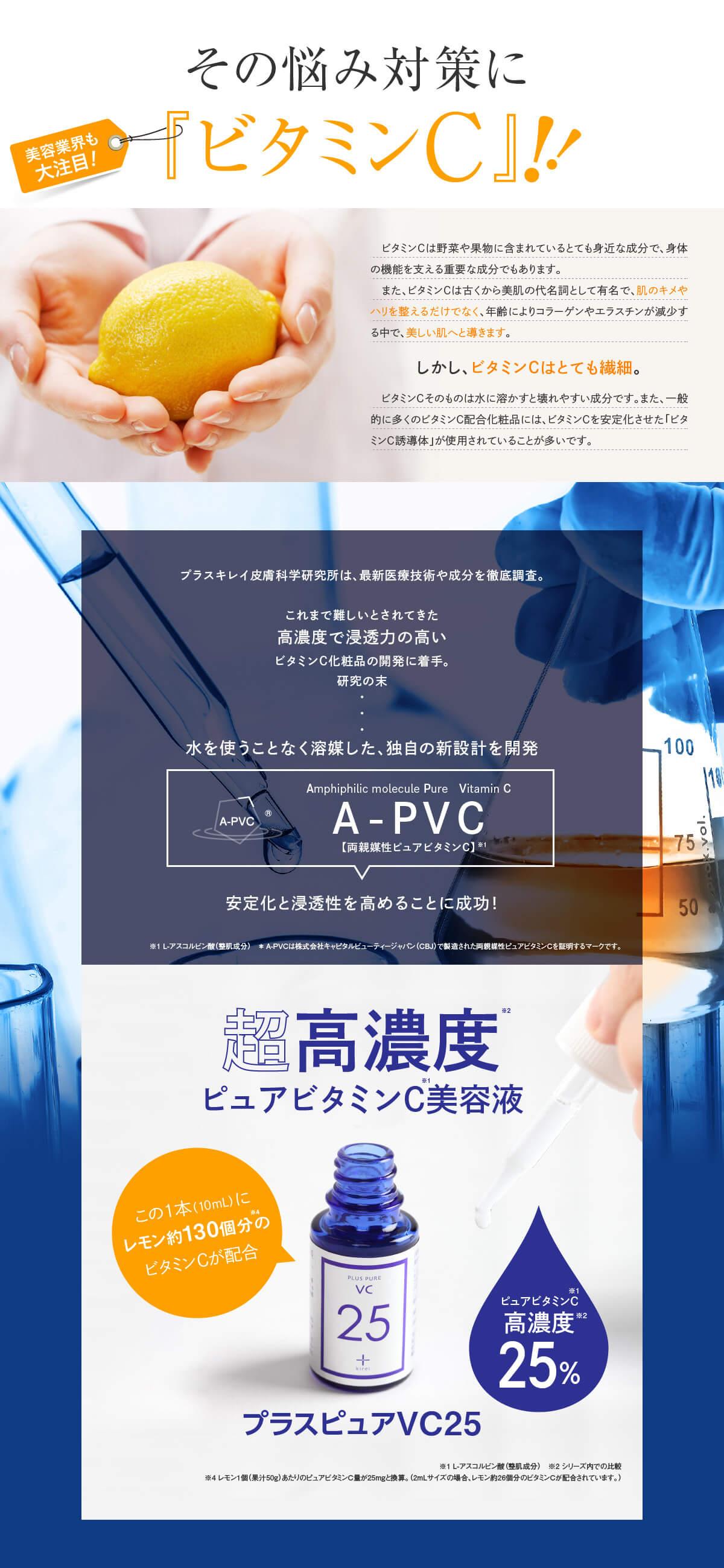 プラスピュアVC25